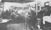 開校当時の職員室